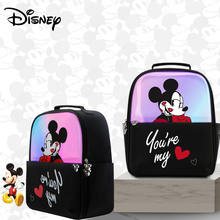 Disney Mickey Diaper Bag Backpack For Mommy Maternity Bag For Stroller Bag Large Capacity Baby Nappy Bag Fashion Mom Organizer