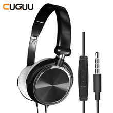Wired Headphones With Microphone Over Ear Gaming Headset Bass Deep Sound HiFi Music Stereo Headphone Handsfree For Xiaomi PC PS4