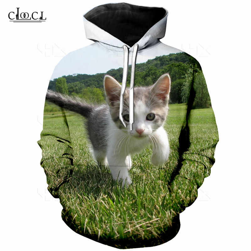 Мужские футболки летние с коротким рукавом 3D милый кот печать животных Футболка мужская Толстовка Повседневная Женская Мужская s футболки кофты S-5XL Топы