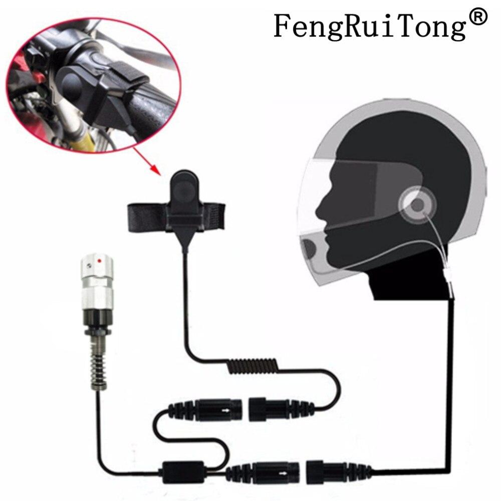 6-PIN Motorcycle Full Face Helmet Headset Earpiece for Two Way Radio  TRI TCA/AN PRC-148 PRC-152 Walkie Talkie PRC148 PRC152