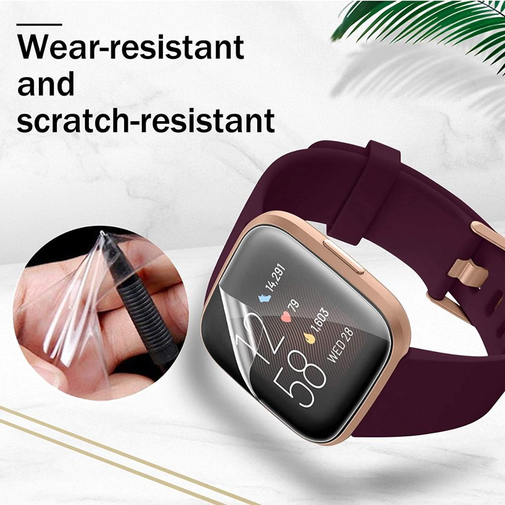 For Fitbit Versa 2 HD film tempered film matte film For Fitbit Versa 2 explosion-proof ultra-thin transparent screen protector 3