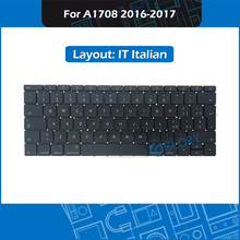 New IT Italian A1708 Keyboard For Macbook Pro Retina 13″ A1708 Italy keyboard Replacement 2016 2017