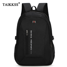 Mens Backpack Oxford Cloth Material British Leisure College Style High Quality Design Large Capacity Multifunction