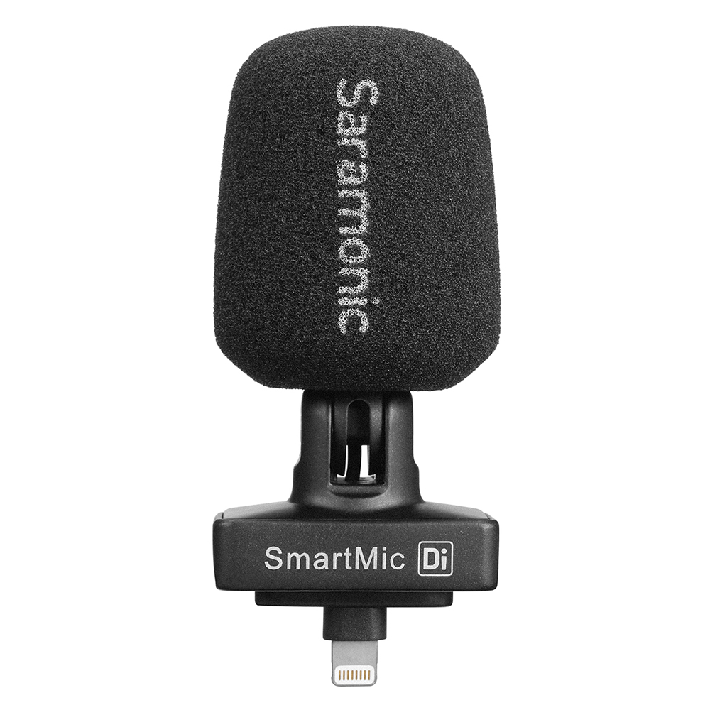 Saramonic SmartMic Di Stereo Digital Kondensator Video Mic für IOS iPhone iPad Mini Klar Aufnahme Video Vlog Live Broadcast Mic - 4