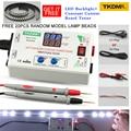 TKDMR 0-330V ajuste Manual voltaje TV LED contraluz Tester corriente ajustable Tabla de corriente constante LED lámpara cuenta