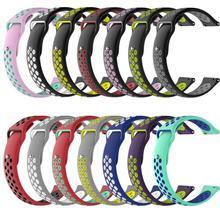 Für amazfit bip strap 20mm Doppel Farbe Silikon Ersatz Armband Für Xiaomi Huami Amazfit Bip A1608 Jugend Ed uhr