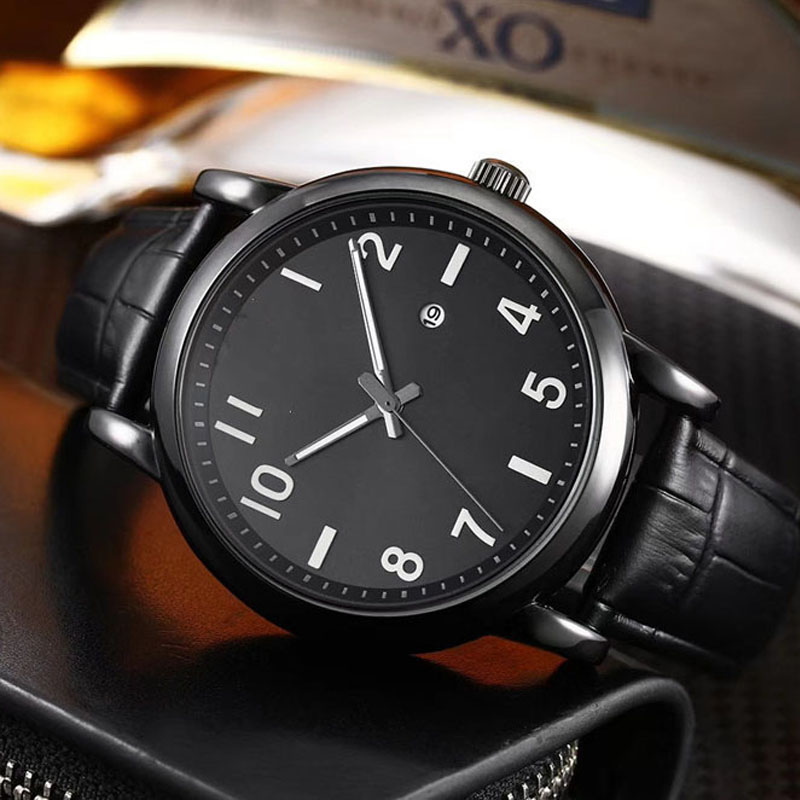 Luxury Brand Watches Male Fashion Simple Casual Quartz A R Watch Leather Strap Men Sports Pocket Watch Man Relogio Masculino