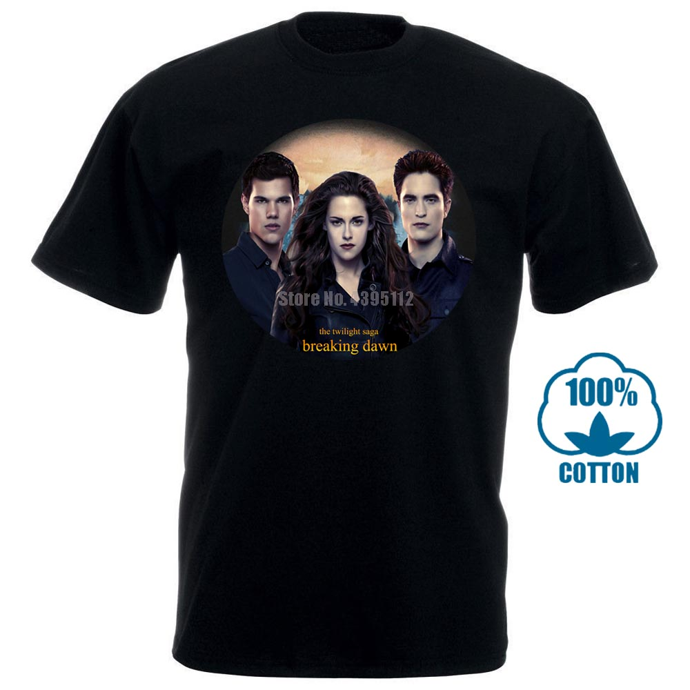 Breaking Dawn The Twilight Saga Part 2 Taylor Lautner 2012 Movie T Shirt Shirt Summer The New Fashion For Short Sleeve 014778 image