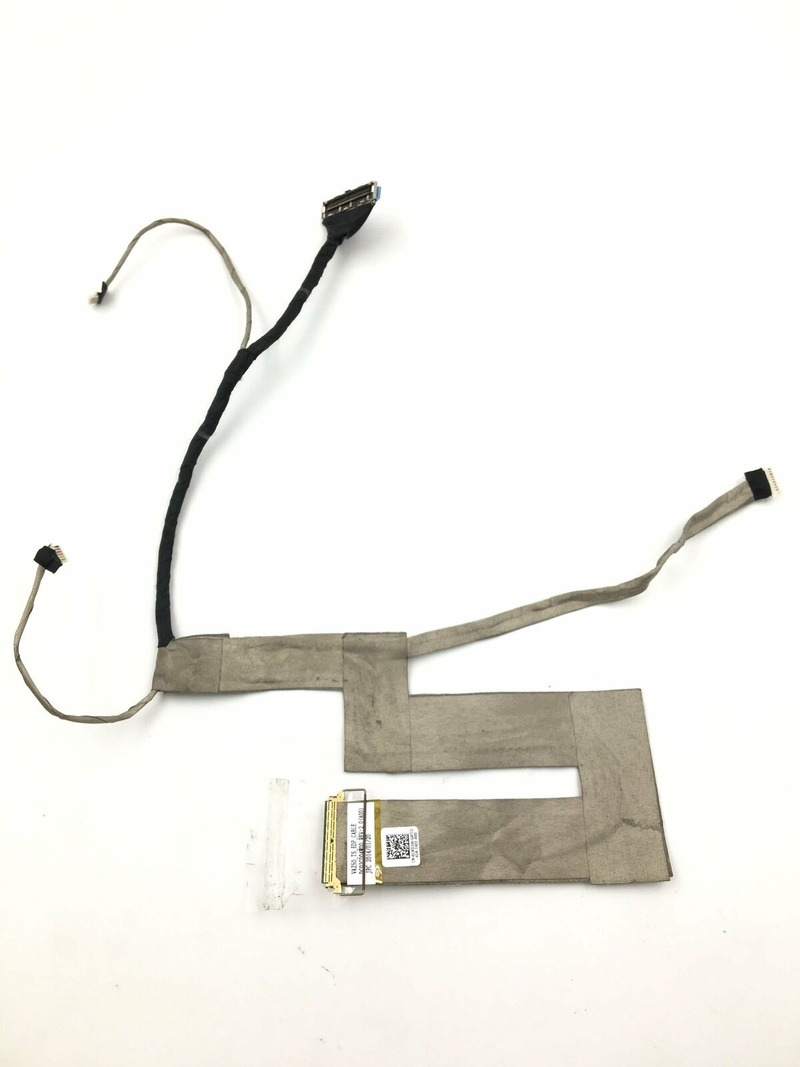 For Dell Latitude E7240 LCD Video Screen Cable DC02C004W00 0CKD2W CKD2W Touch JI