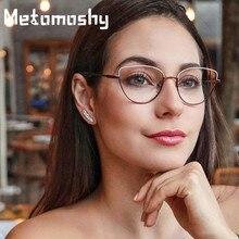 Marcos de gafas sencillas de ojo de gato Vintage 2019 para hombres y mujeres gafas ópticas de ordenador de moda lentes transparentes