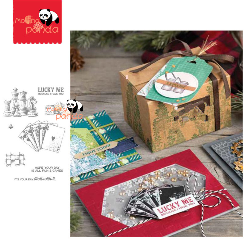 MP107 GAME ON Metal Cutting Dies And Stamps Stencil  For Diy Scrapbooking Photo Album Decorative Embossing PaperCard Crafts Die