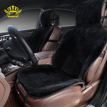 Zestaw pokrowców na siedzenia samochodowe czarne futerko śliczne akcesoria do wnętrza samochodu poduszka stylizacja zima nowe pluszowe poduszki do samochodu pad pokrowce na samochód