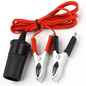 12V Car Jump Starter Conncetor Portable Emergency Lead Booster Cable Battery Clamp Clip image