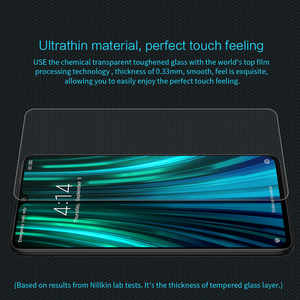 Image 5 - Voor Xiaomi Redmi Note 8 Pro Gehard Glas Nillkin Verbazingwekkende H Anti Explosie 9H Screen Protector Voor Redmi note 8 Pro Glas Film