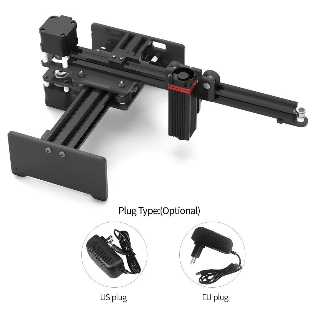 Máquina portátil de grabado láser, 20000mW/7000mW/3500mW, CNC, Mini impresora de logotipos para grabado de Metal