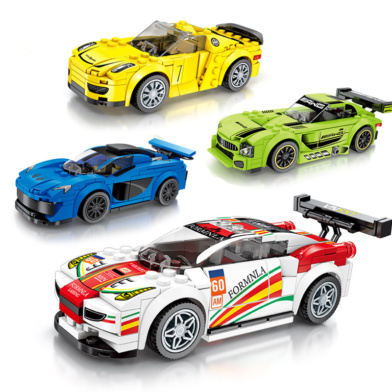 Legos City Vehicle Blocks Racing Car Technic Building Blocks Legoed City Super Race Car Bricks Vehicle Model Toys Children Gifts