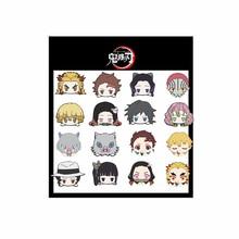 1 PCS Cartoon Sticker Demon Slayer Series Anime Tanjirou Nezuko Agatsuma Zenitsu Figure Stickers PVC 12*11CM Waterproof Kid Toys