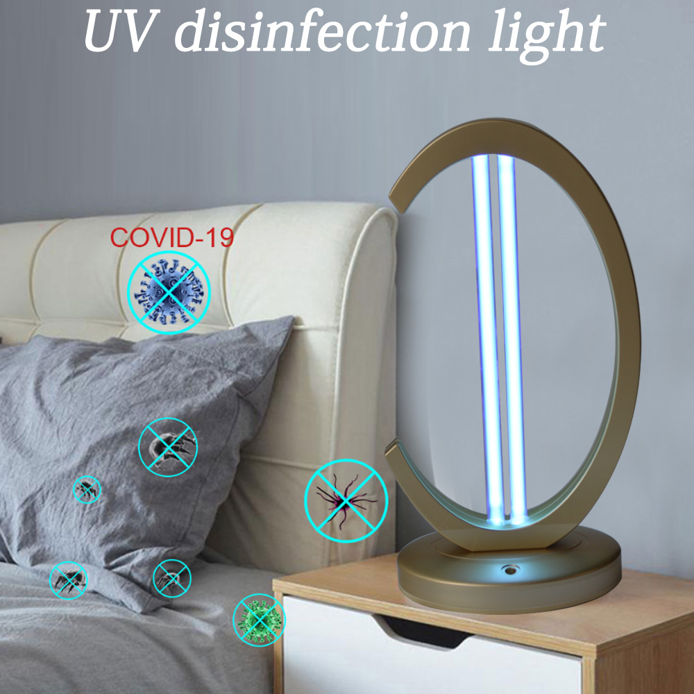 High Power 38W UV Sterilizer Quartz Lamp UVC Germicidal LED Light Bulb For Indoor Cabinet Clothing Disinfection Bactericidal
