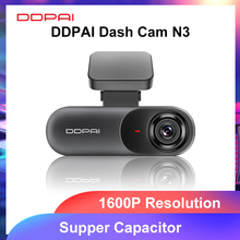 DDPAI – caméra de tableau de bord Mola N3 1600P HD, GPS, enregistreur vidéo pour voiture, 2K, Android, Wifi, connexion intelligente, stationnement 24H