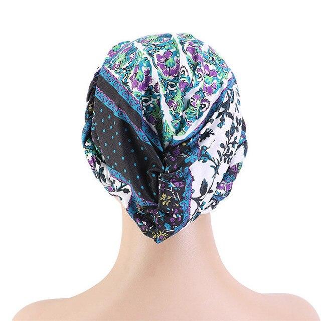 Купить новая оплетка головной убор шапки печать твист платок рак химиотерапия картинки цена