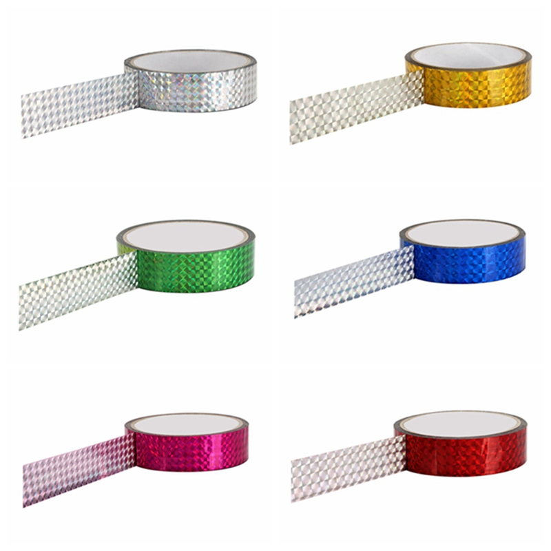 DIY Photo TapesLaser Tape Rhythmic Gymnastics Decoration Holographic Tapes Prismatic Glitter Tapes Artistic Hoops Stick 15mmx30m