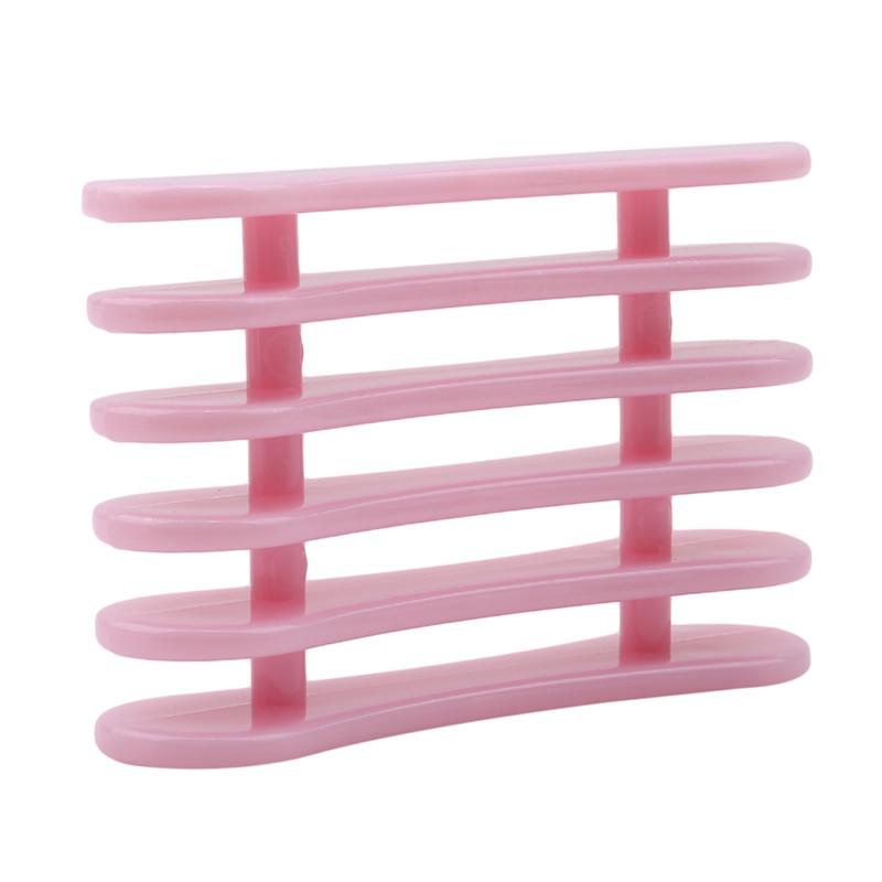 Инструменты для маникюра, розовый поднос, много цветов на выбор, кисти, держатель для ручки, подставка для макияжа, кисти для дизайна ногтей