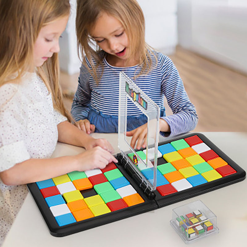 Image 2 - Magic Building Blocks Game Toy Fun Board Game Frame Connection Magic Family Party Game Education Toy Childrens birthday giftsPuzzles   -