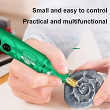 mini electric drill engraver Rotary Tool polishing machine 180W Power Tool Variable Speed engraving pen with accessories