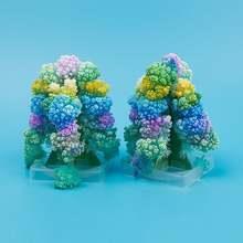 Diy Цветущая Рождественская бумага дерево волшебный развивающий