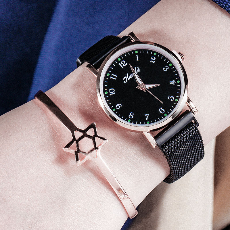 Reloj Mujer Fashion Simple Women Watches Female Gold Magnetic Belt Wristwatch Rhinestone Luminous Ladies Hand Clock Quartz Watch
