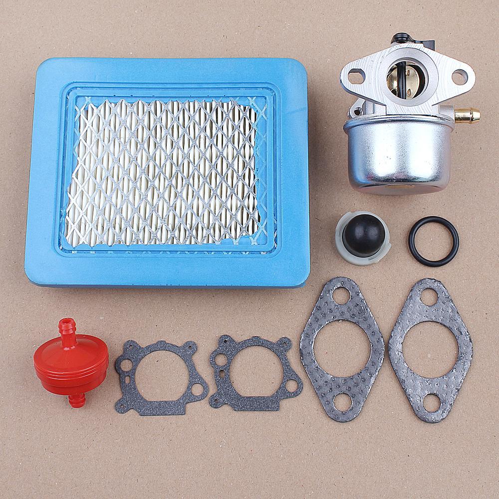 Carburetor Air Fuel Filter For Briggs & Stratton 675EX 6.75HP 799868 498170 497586 498254 497314 497347 Engine Primer Bulb