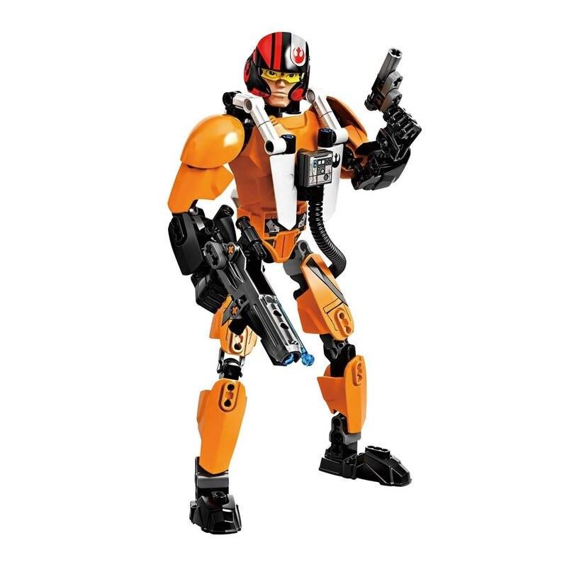 Star Wars Boba Fett Darth Maul Kylo Stormtrooper Phasma Ren Rey Vader Model Assemble Figure Construction Toys For Children 18