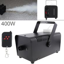 цена на Fog Machine  Wire Control 400W Smoke Machine Stage Effect Disco DJ Party Christmas with Remote Control LED fogger hot