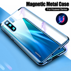 На Алиэкспресс купить стекло для смартфона 360 front+back double tempered glass case on for huawei p30 pro mate 30 p30 pro p30 mate30pro protection camera magnetic cover