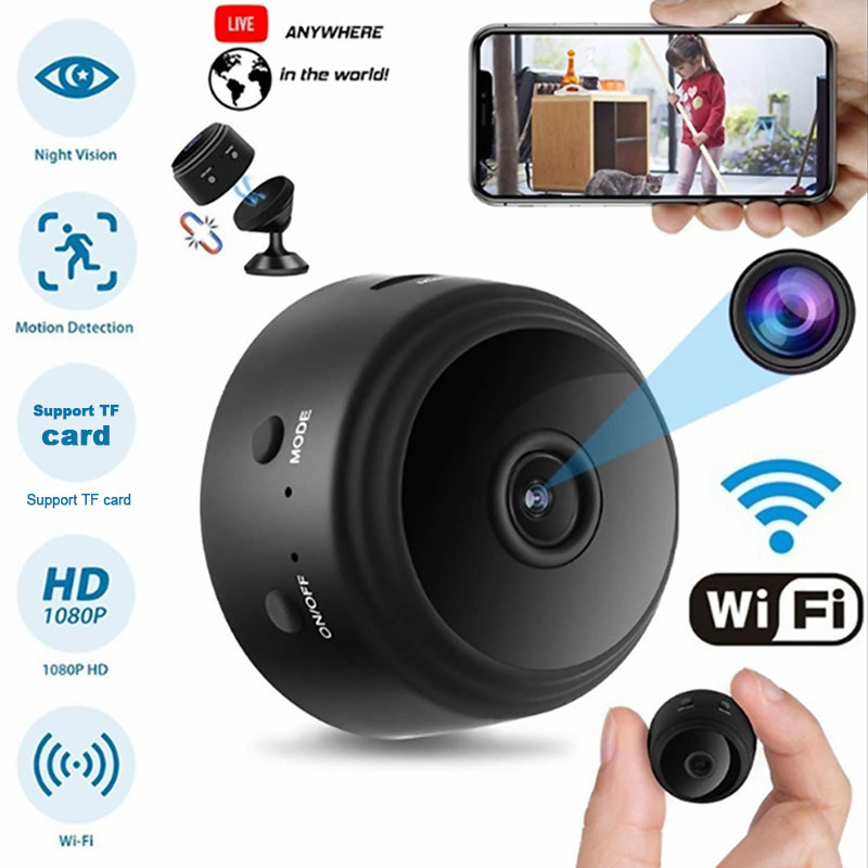 A9 HD 1080p wifi Ip mini camera small wireless home baby night vision security micro Motion Detection Hisilicon Hi3518EV200 cam image