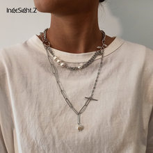 Чокер ingesightz женский из нержавеющей стали ожерелье с имитацией