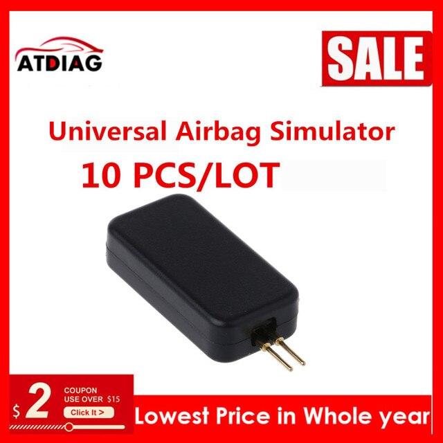 10 100 sztuk/partia nowy samochód Auto uniwersalny symulator emulatora poduszki powietrznej narzędzie diagnostyczne błędów SRS jest bardzo ważna
