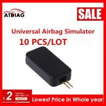 Emulador de Airbag Universal para coche, herramienta de diagnóstico de localización de fallos SRS, 10 100 unids/lote, nuevo