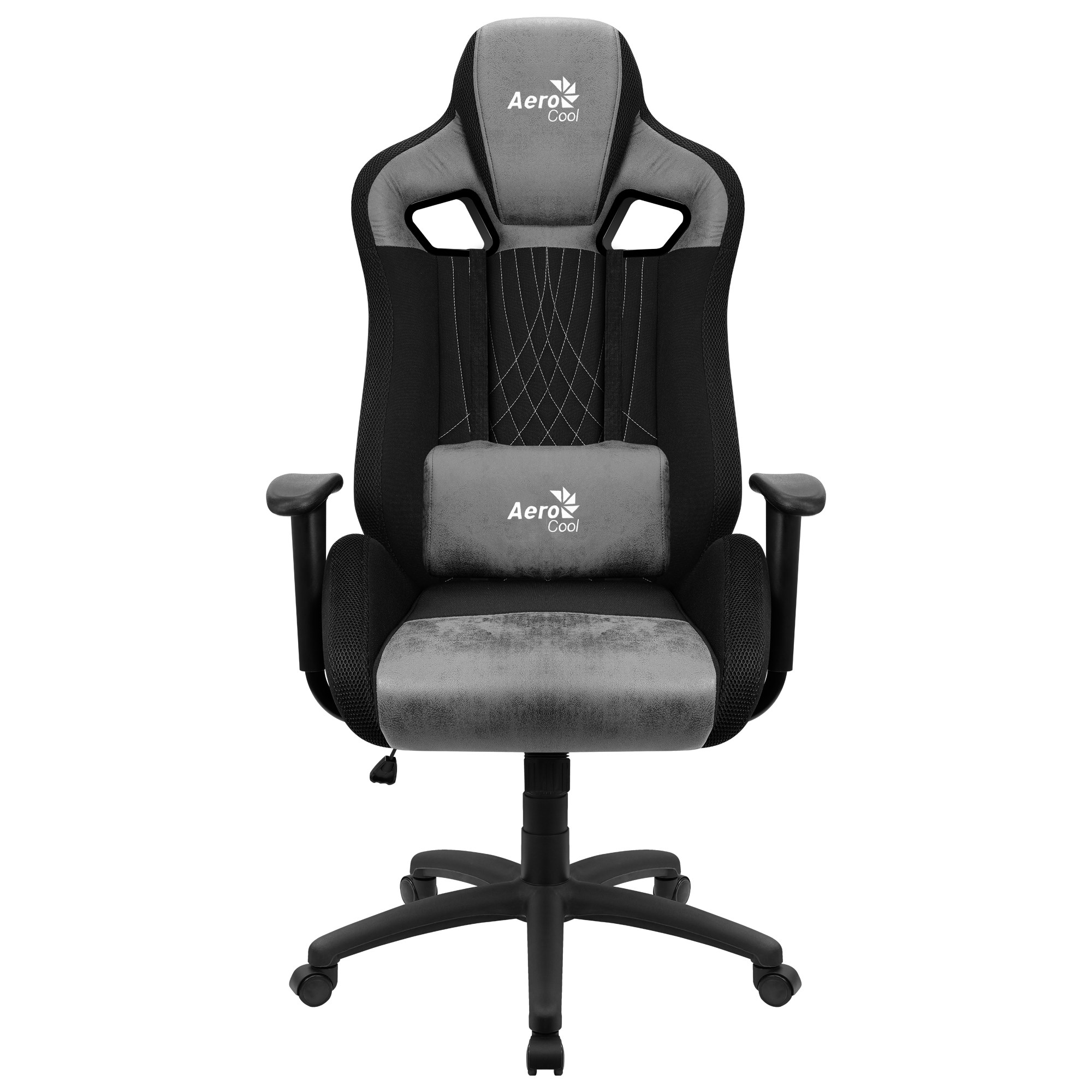 Aerocool EARL, Gaming Chair, AeroSuede Breathable, Backstop Adjustable, Grey