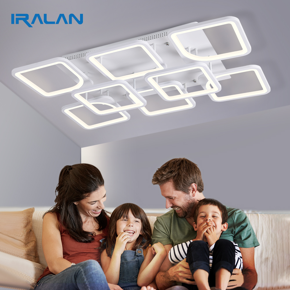 IRALAN New LED Ceiling Lamp Home for Living Room Bedroom Dining Room Modern led dec Ceiling Light Fixture Ceiling Lights  - AliExpress