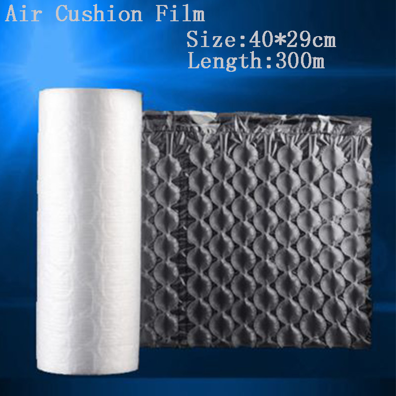 10 Roll Air Cushion Bubble Film Bubble Bag Bubble Cushion Film 300 Meter Per Roll Shockproof Gourd Bubble Film 40*29cm
