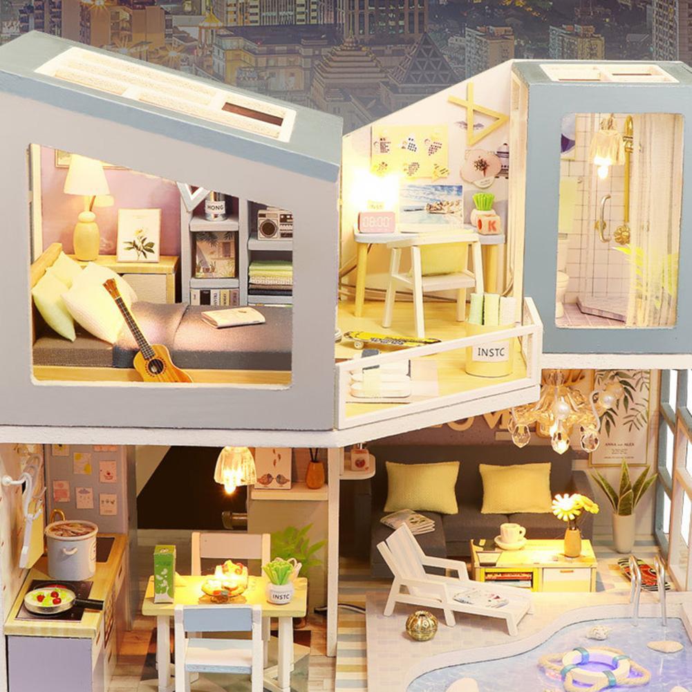 H954106e541c24f9a978ee68393d04a08d - Robotime - DIY Models, DIY Miniature Houses, 3d Wooden Puzzle