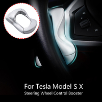 for Tesla Model X S Steering Wheel Control Booster Counterweight Ring Automatic FSD Assisted Driving