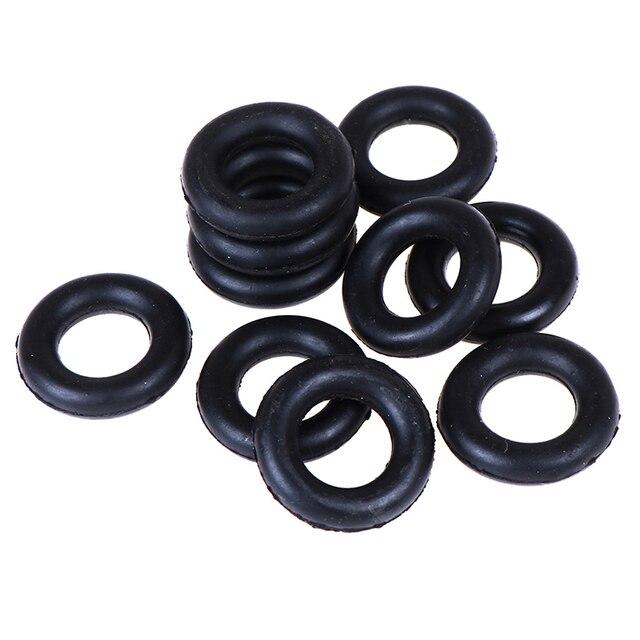 Enrouleur, roue de Friction | 10 pièces, autour de la bobine, anneau en caoutchouc, bobine de joint torique pour Machine à coudre, accessoires de couture Singer