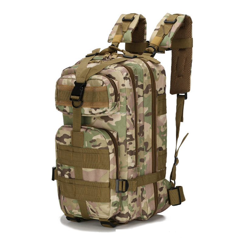 Waterproof Outdoor Hunting Hiking Climbing Backpack Molle Military Tactical Backpacks Airsoft Wargame Military Assault Bags title=