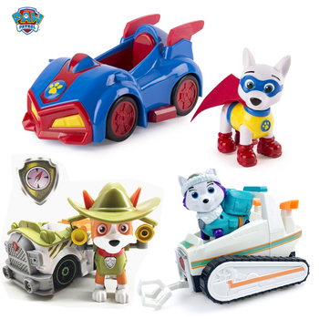 Paw patrol birthday toy anime Apollo tracker Everest puppy patrol action figure model Patrulla canina kids birthday gift ghostface killah ghostface killah apollo kids