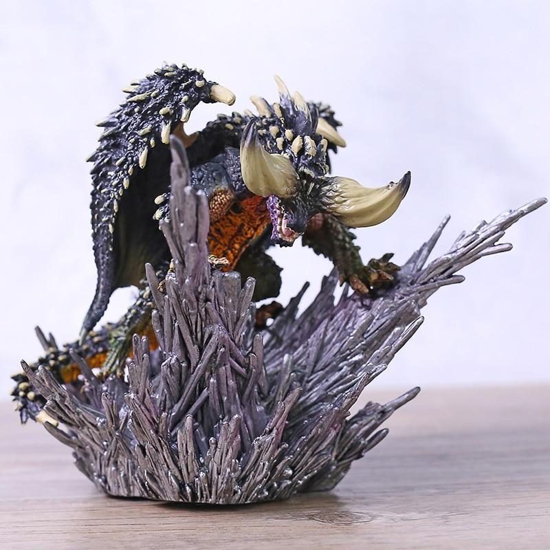 Hot Game Monster Hunter World Nergigante PVC Figure Statue Cover Monsters Model Toy
