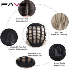 Image 5 - FAVE perruque synthétique mixte noire cendré Blonde