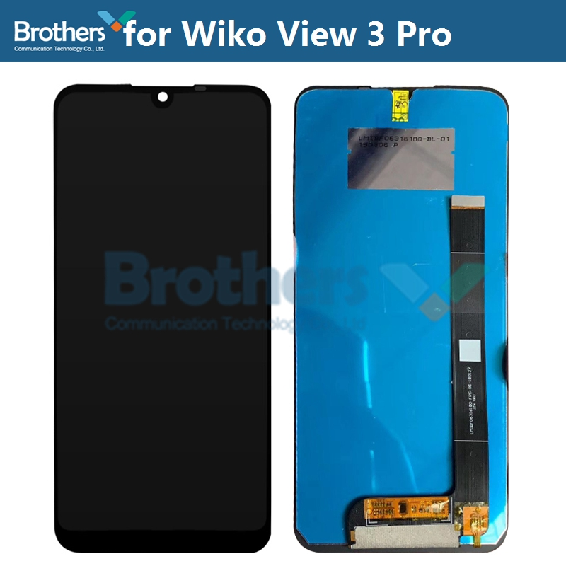 LCD Screen for Wiko View 3 pro 3pro LCD Display Touch Screen Digitizer for Wiko 3pro LCD Assembly Phone Repair Replacement AAA