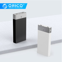Orico power bank 10000 mah 20000 mah qc 2.0 3.0 pd 3.0 외부 배터리 뱅크 18 w 빠른 충전 powerbank ((China)